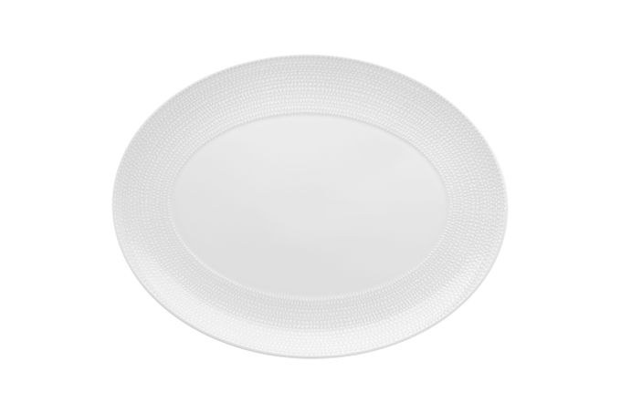 Vista Alegre Mar Oval Plate / Platter 41.6 x 32.1 x 3.1cm