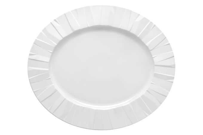 Vista Alegre Matrix Oval Plate / Platter 42 x 35.6 x 3cm