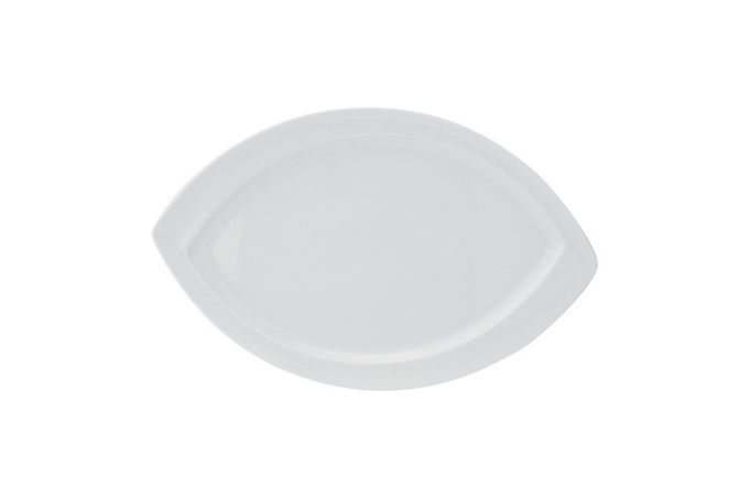 Vista Alegre Organic Oval Plate / Platter 36.4 x 23.2 x 2.4cm