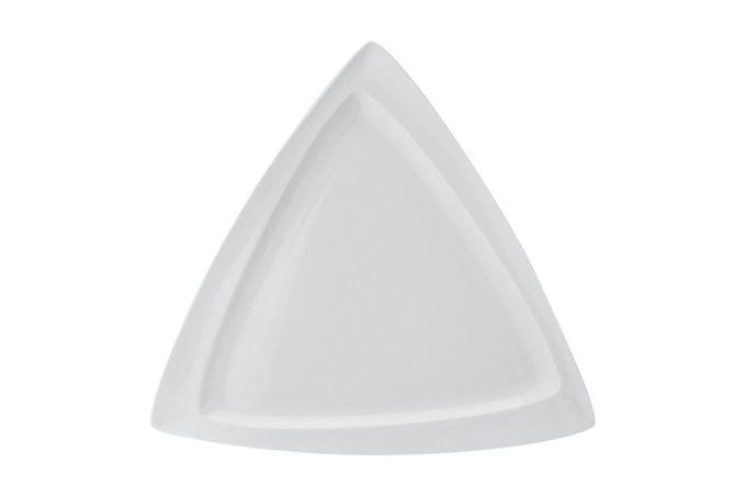 Vista Alegre Organic Platter Triangular 40.4 x 40.4 x 2.3cm