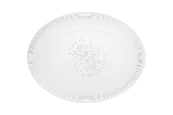 Vista Alegre Ornament Oval Plate / Platter 34.7 x 27cm