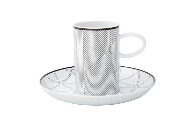 Vista Alegre Orquestra Coffee Cup & Saucer Black