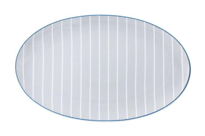 Vista Alegre Orquestra Oval Plate / Platter 33.8 x 21cm