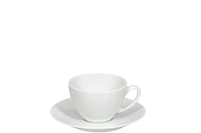 Vista Alegre Spirit White Breakfast Cup & Saucer 17cm
