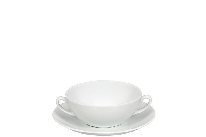 Vista Alegre Spirit White Soup Cup & Saucer 17cm