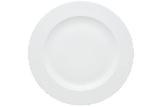 Vista Alegre Spirit White Round Platter 33.3 x 3.2cm
