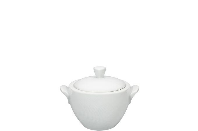 Vista Alegre Spirit White Sugar Bowl - Lidded (Tea)