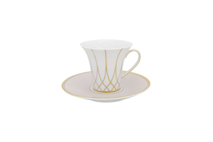 Vista Alegre Terrace Coffee Cup & Saucer Saucer is 14cm 8 x 7.2cm
