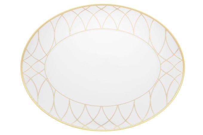 Vista Alegre Terrace Oval Plate / Platter 41.6 x 32.1 x 3.1cm