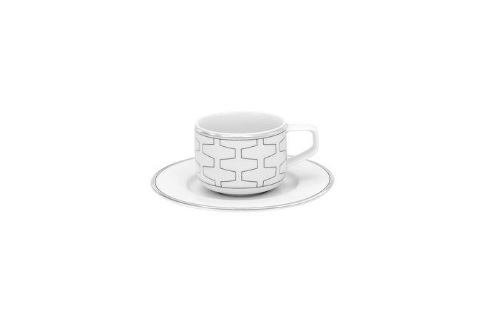 Vista Alegre Trasso Coffee Cup & Saucer Saucer - 12.5cm 6 x 4.6cm