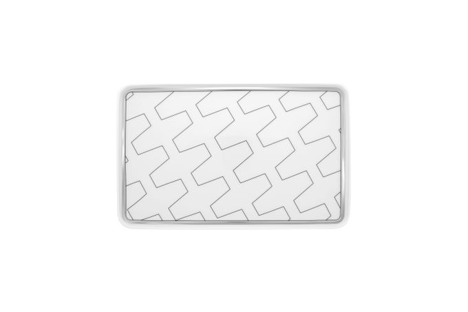 Vista Alegre Trasso Rectangular Platter 26.4 x 17cm