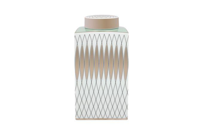 Vista Alegre Venezia Jar + Lid Charleston 12.3 x 12.3 x 26cm