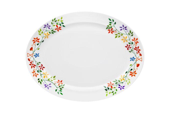 Vista Alegre Vila Verde Oval Plate / Platter 41.7 x 32 x 3.6cm