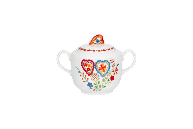 Vista Alegre Vila Verde Sugar Bowl - Lidded (Tea)