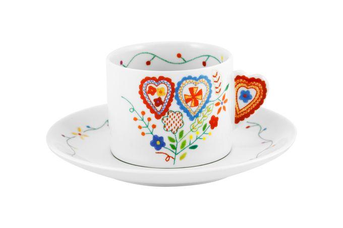 Vista Alegre Vila Verde Teacup & Saucer C 14.9cm
