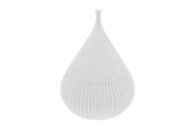 Vista Alegre Plisse Bowl (Giftware) Decorative Lidded Bowl - Medium 18.4 x 25.5cm