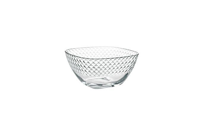 Casa Alegre Grid Glass Bowl Large 27.5cm