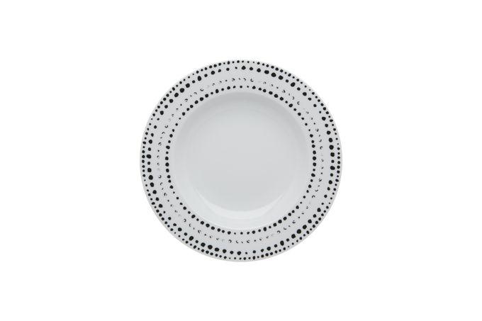 Casa Alegre Nero Soup Plate 23cm