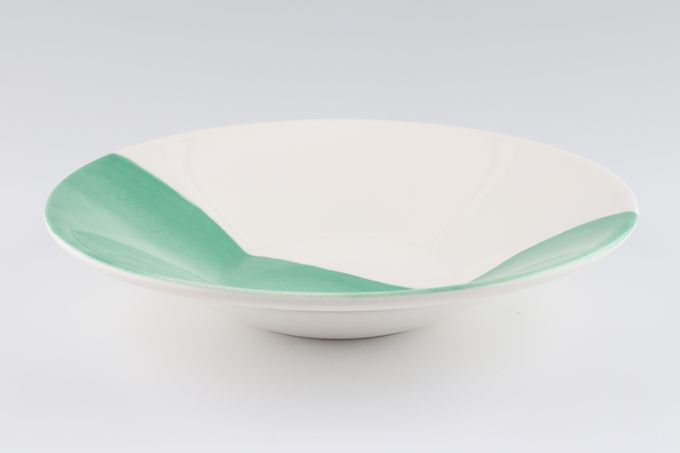 Casa Alegre Oceanus Bowl Green 21.5 x 4.5cm