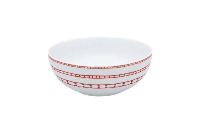 Casa Alegre Rosso Salad Bowl Large 23 x 9cm