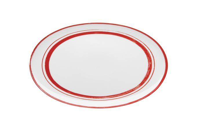 Casa Alegre Rosso Oval Platter 39 x 24cm