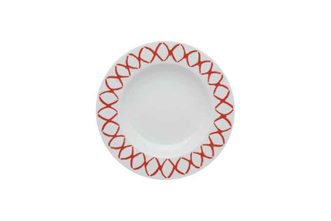 Casa Alegre Rosso Soup Plate 23.5cm