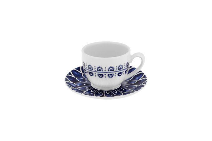 Casa Alegre Azure Teacup & Saucer Saucer is 15cm 9 x 7cm
