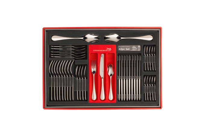 Charingworth Baguette 42 Piece Cutlery Set Giftbox