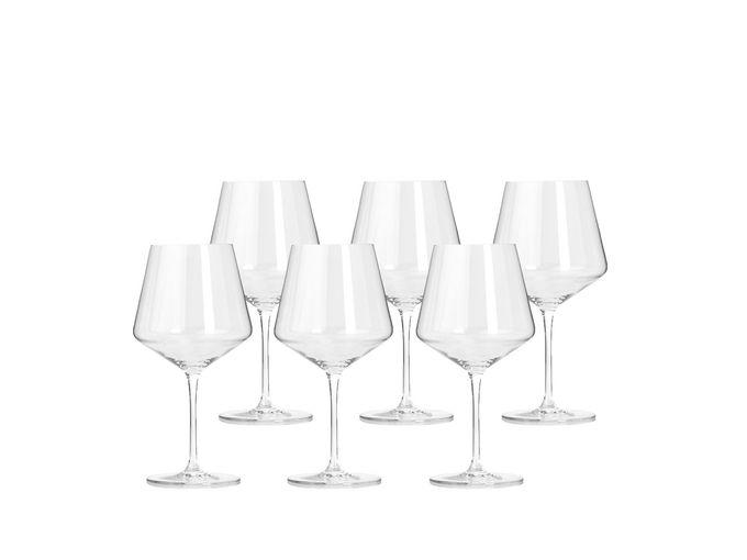 Leonardo Puccini Burgundy Wine Glass - Set of 6 0.73l