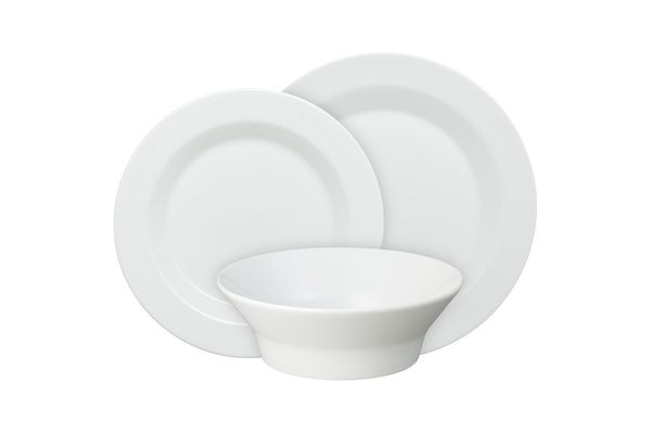 James Martin for Denby James Martin Everyday 12 Piece Set Dinner, Salad, Soup/Cereal Bowl