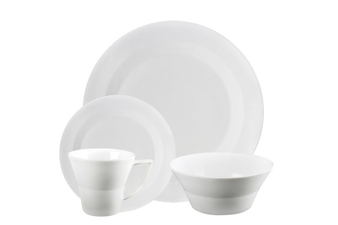 James Martin James Martin Everyday 16 Piece Set Dinner, Small, Soup/Cereal Bowl, Mug