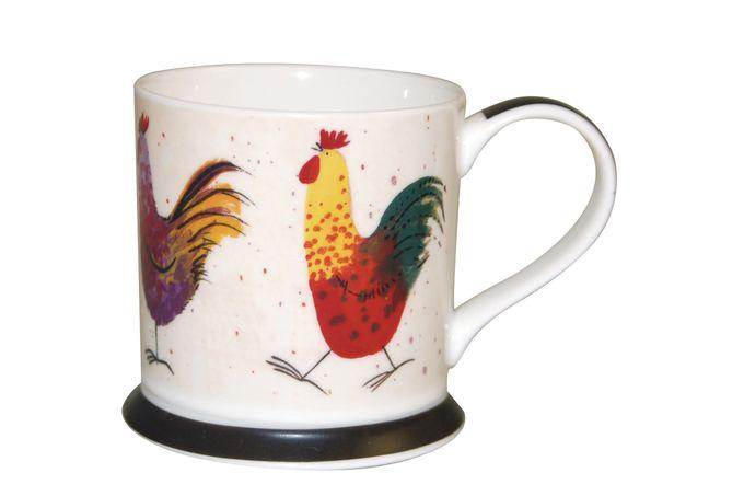 Alex Clark for Churchill Rooster Mug 9 oz, AC Farmyard Rooster Mug