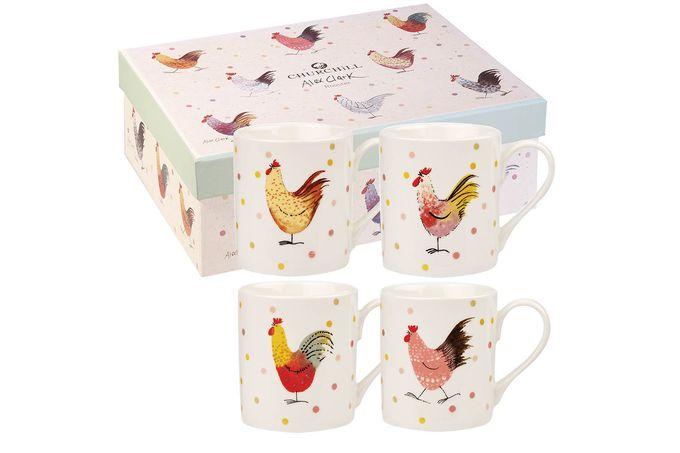 Alex Clark for Churchill Rooster Mug Set Larch Mug Gift Set - Boxed 0.25l