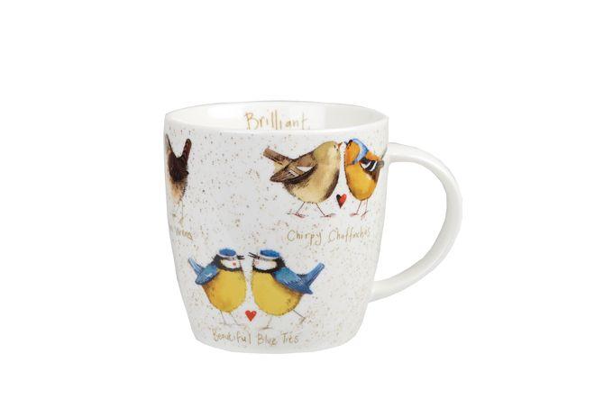 Alex Clark for Churchill Alex Clark Mugs Mug Brilliant Birds 400ml