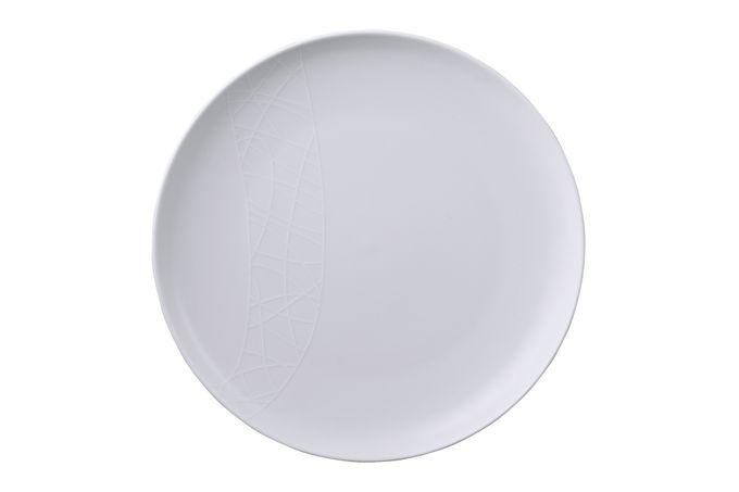 """Jamie Oliver for Churchill White on White - Queens Dinner Plate Pukka 10 1/2"""""""