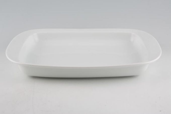 """Jamie Oliver for Churchill White on White - Queens Serving Dish Little Tiger 13 1/2 x 10 5/8"""""""