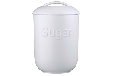 Jamie Oliver for Churchill White on White - Queens Storage Jar + Lid Sweet Thing