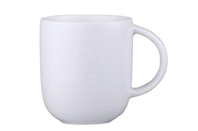 Jamie Oliver for Churchill White on White - Queens Mug 400ml