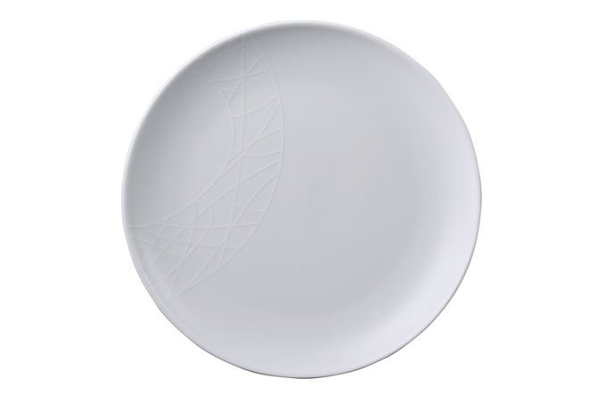 Jamie Oliver for Churchill White on White - Queens Side Plate 23cm