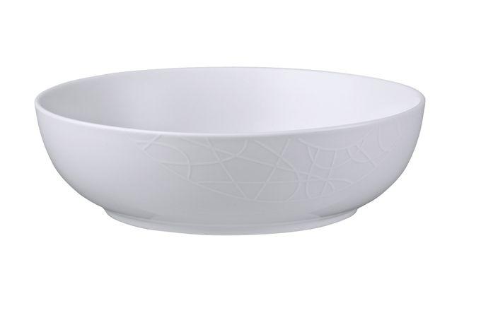 Jamie Oliver for Churchill White on White - Queens Serving Bowl 23cm