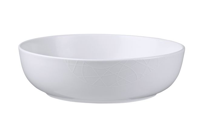 Jamie Oliver for Churchill White on White - Queens Serving Bowl 28cm