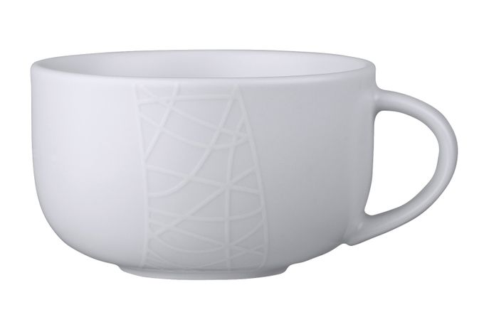 Jamie Oliver for Churchill White on White - Queens Teacup 300ml