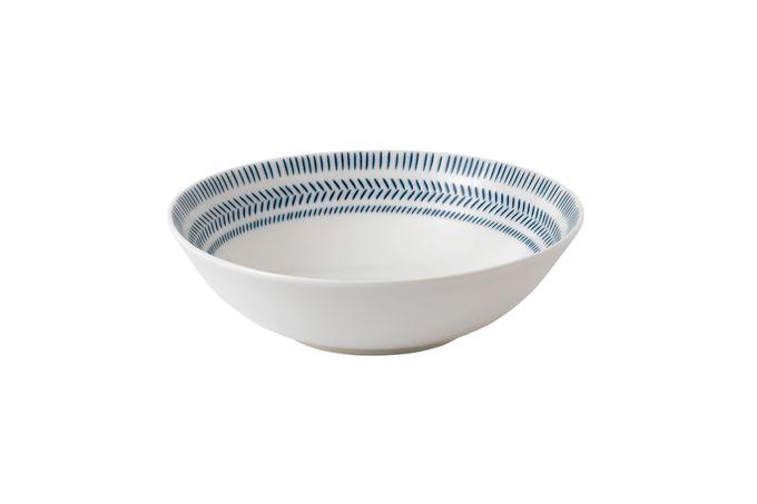 Ellen DeGeneres for Royal Doulton Dark Blue Chevron Bowl 20cm