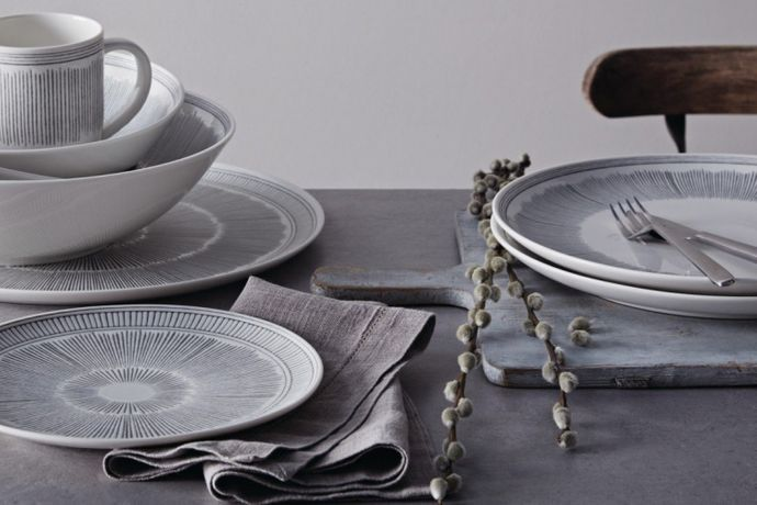Ellen DeGeneres for Royal Doulton Grey lines