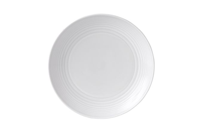 Gordon Ramsay for Royal Doulton Maze White Breakfast / Lunch Plate 8 3/4""