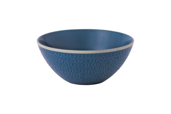 Gordon Ramsay for Royal Doulton Maze Grill Cereal Bowl Hammer Blue 16cm