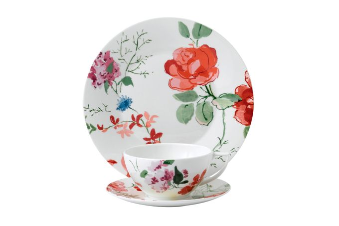 Jasper Conran for Wedgwood Floral 3 Piece Set Gift Boxed
