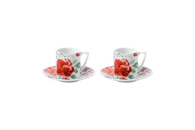Jasper Conran for Wedgwood Floral Coffee Saucer Single saucer only
