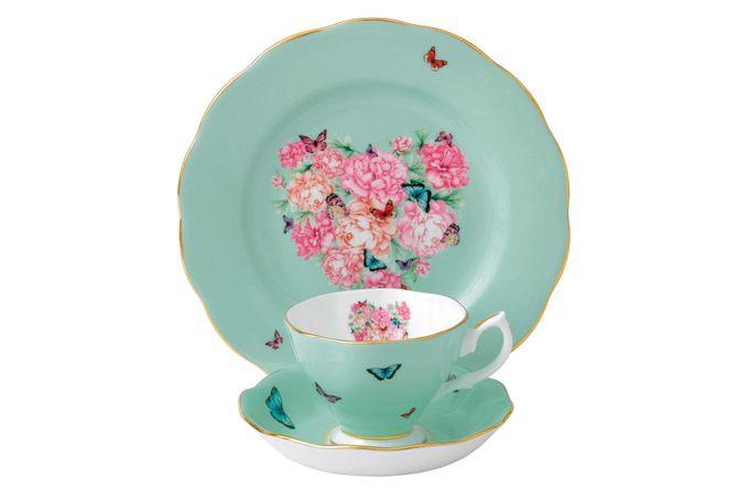 Miranda Kerr for Royal Albert Blessings 3 Piece Set Teacup, Saucer, Plate 20cm Blessings