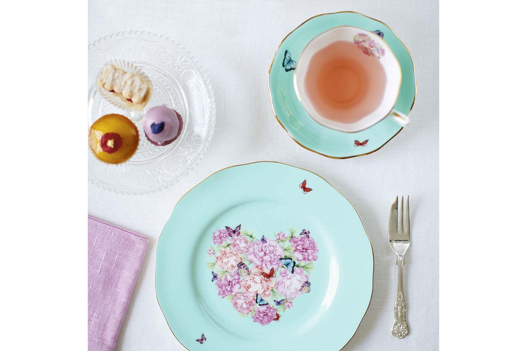 Miranda Kerr for Royal Albert Blessings 3 Piece Set Teacup, Saucer, Plate 20cm Blessings thumb 3